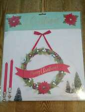"""American Crafts Wreath Kit 12"""" All Materials Brand New"""