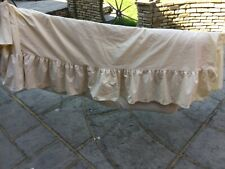 Double bed valance