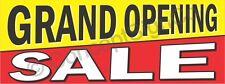 15x4 Grand Opening Sale Banner Outdoor Indoor Sign Now Open New Store Retail