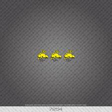 07254 Roccia Lobster Bicicletta Adesivi-Decalcomanie-trasferimenti-Giallo