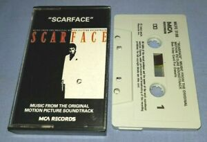 SCARFACE MUSIC FROM THE MOTION PICTURE SOUNDTRACK cassette tape album A1265