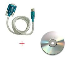 USB to RS232 DB9 Male Adapter 9-pin Serial Cable & Driver CD Support Win 7/8/10