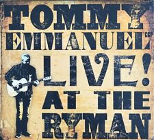 Live at the Ryman by Tommy Emmanuel (CD, May-2017)