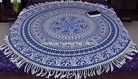 Indian Mandala Wall Hanging Decor Beach Throw Tapestry Bohemian Table Cloth Art