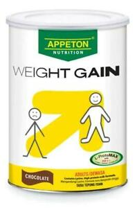 2x900g Appeton Weight Gain Chocolate Powder Adults Increase Body Weight.FreeGift