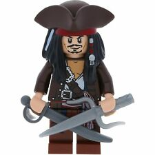 LEGO Pirates Des Caraïbes Mini figurine Captain Jack Sparrow a