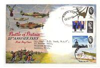 AH127 1965 GB Battle of Britain FDC *BIGGIN HILL* Relevant Kent RAF STATION PTS