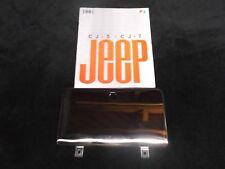 Jeep CJ, CJ glove box door, stainless steel CJ glove box door