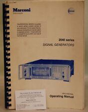 Marconi 2040 Series Signal Generator