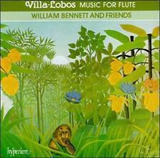 Heitor Villa-Lobos: Music for Flute - Quinteto em Forma de Chôros / Modinha / Ba