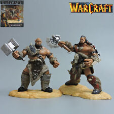 2 WOW World of WARCRAFT DUROTAN ORGRIM DOOMHAMMER DOOM ACTION FIGURES STATUE TOY