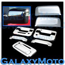04-08 Ford F150 Chrome HALF Mirror+2 Door Handle+keypad+PSG KH+Tailgate Cover