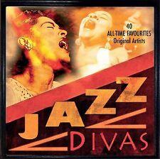 JAZZ DIVAS - FITZGERALD, HOLIDAY, VAUGHAN, BAILEY, HORNE, LEE & MORE - 2CD SET