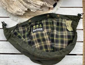 Barbour Wachsjacke Kapuze Hood grün sage Bedale Beaufort Border etc.