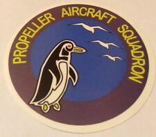 Pegatina/sticker/autocollant : Propeller Aircraft Squadron/ Escuadrón /Aviación