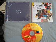 Pavarotti & Friends - For War Child (Cd, Compact Disc) Complete Tested