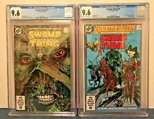 SWAMP THING 49 + 50 CGC 9.6 O-W/WP J.CONSTAN. 1ST & 2ND JLD, JUSTICE LEAGUE DARK