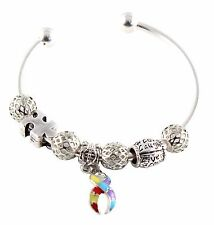 Autism Awareness Multi Charm Bracelet