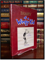 The Diary Of A Wimpy Kid ✎SIGNED✎ by JEFF KINNEY New Easton Press Leather Bound