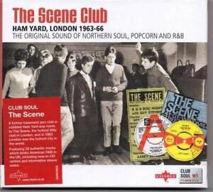 THE SCENE CLUB, Ham Yard London - New & Sealed CD (Charly) Northern Soul Mod R&B