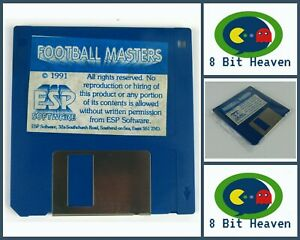 FOOTBALL MASTERS BY ESP SOFTWARE FOR COMMODORE AMIGA - TESTED & WORKING