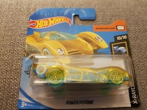 HOTWHEELS 2020 Power Pistons Treasure Hunt Short Card