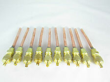 """ACCESS AND SERVICES VALVES  3/16"""" SOLDER FOR A/C LINE (QTY: 10 VALVES)"""