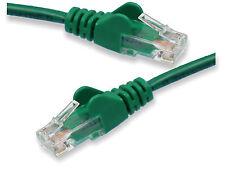 Short 12cm GREEN Network Cable RJ45 LAN Patch Lead Cat5 Ethernet Router Cat5e