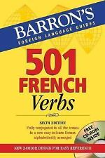 501 French Verbs: with CD-ROM (Barron's Foreign Language Guides)-ExLibrary