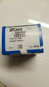 Magnetspule Castel HF2, 9300/RA6, 8W, 220/230V, 50/60Hz