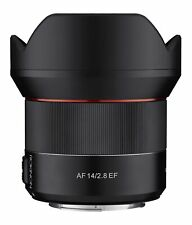 Rokinon 14mm F2.8 AF Weather Sealed Wide Angle Lens (Canon EF)