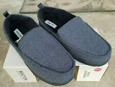 Kenneth Cole Reaction Men's Lounger Indoor / Outdoor Slippers GRAY LARGE NIB