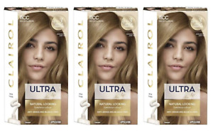 3 x Clairol Ultra Lift Permanent Hair Colour Cool Blonde 11CC