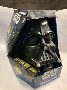 Star Wars Darth Vader Voice Helmet Toys R Us Exclusive  Hasbro RARE MODEL
