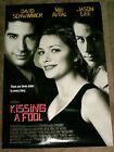 27x40 Art Movie POSTER Kissing a Fool 1998 DAVID SCHWIMMER Mili Avital JASON LEE