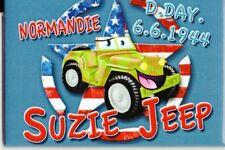 """WW2 - Magnet - NORMANDIE D.DAY 6.6.1944 """" SUZIE JEEP"""""""