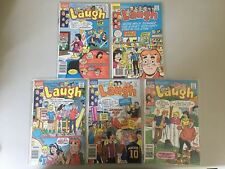 Lot of 5 Laugh Comics (1987 2nd Series) #4 7 10 12 18 VF Very Fine