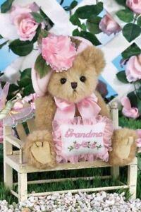 Bearington Plush 10 Inch Bear, Greatest Grandma, Mother's Day, New w/Tag, 165103