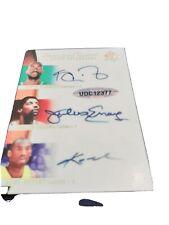 5 cards UD Sign Of The Times 6 Autos SP #2/5 James, Jordan, Kobe, Dr. J Reprint