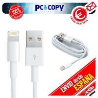 Pack 2 Cables USB 8 PIN datos carga para iPhone X 6 6s 7 8 iPad 3 4 Air Mini