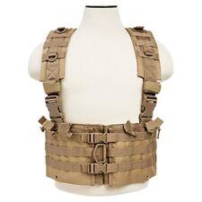NcSTAR CVARCR2922T Tan Tactical Chest Rig w/ Six 5.56/.223 Magazine Pouches