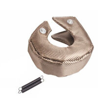 Titanium Turbo Charger Heat Shield Blanket Cover T4 T67 T71 T76 T88 GT40 45 T04