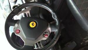 2010 FERRARI CALIFORNIA Steering Wheel BLACK LEATHER NO AIRBAG