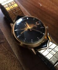 Vintage Bulova Accutron M7 34mm Gold Filled Case 218 Tuning Fork Watch