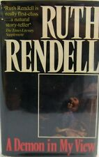 A Demon in my View by Ruth Rendell, Ist Eng edit, Hutchinson London 1976