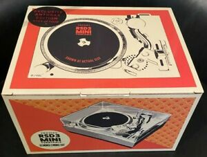 """CROSLEY RSD 3"""" MINI TURNTABLE...ANTHRAX...LIMITED EDITION...NEW AND SEALED!!"""