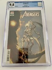Avengers #7 CGC 9.8 Clayton Crain 1:50 Incentive Variant Cover! 1,000,000 BC!