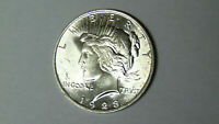 Choice BU 1923 Peace Silver Dollar Choice Uncirculated Philadelphia Mint (mrmtb)
