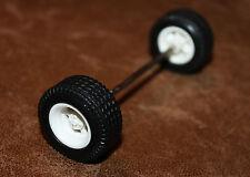 Playmobil pièce détachée vintage essieu et 2 roues cirque 3477 3514 ref hh