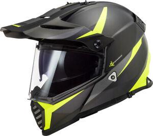 LS2  MX436 Pioneer Evo Router Motocross Helm Gr.M Fb.sw/hi  UVP 169,00